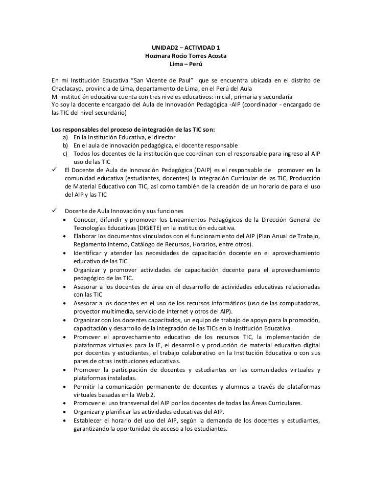 UNIDAD2 – ACTIVIDAD 1                                 Hozmara Rocio Torres Acosta                                        L...