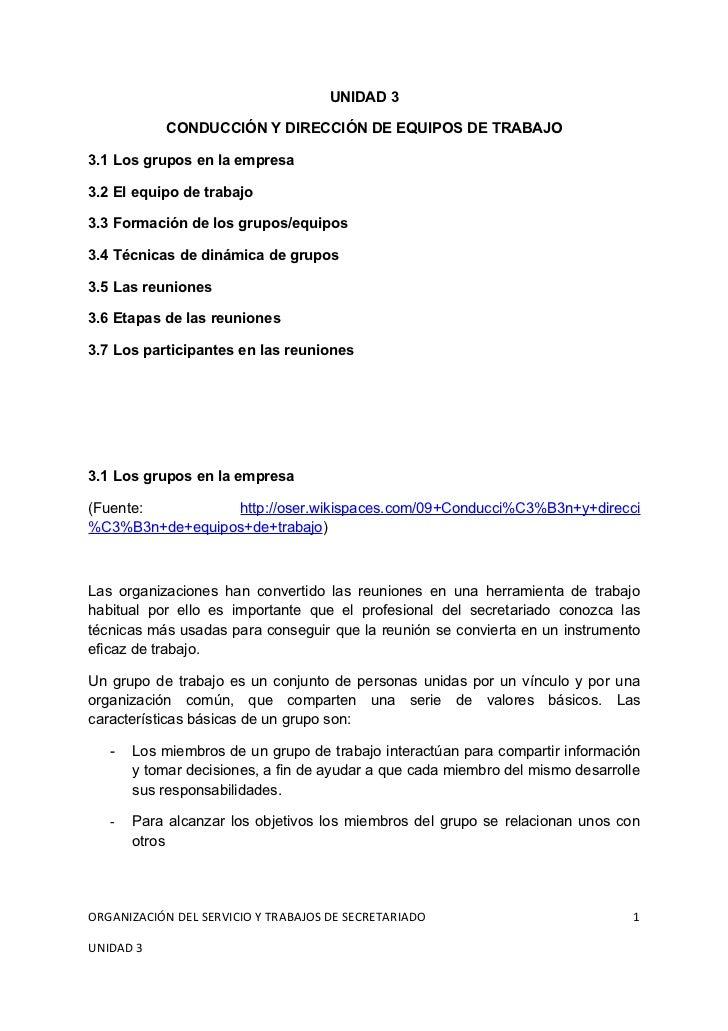 GRUPOS, EQUIPOS Y REUNIONES