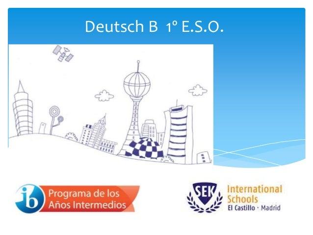 Deutsch B 1º E.S.O.
