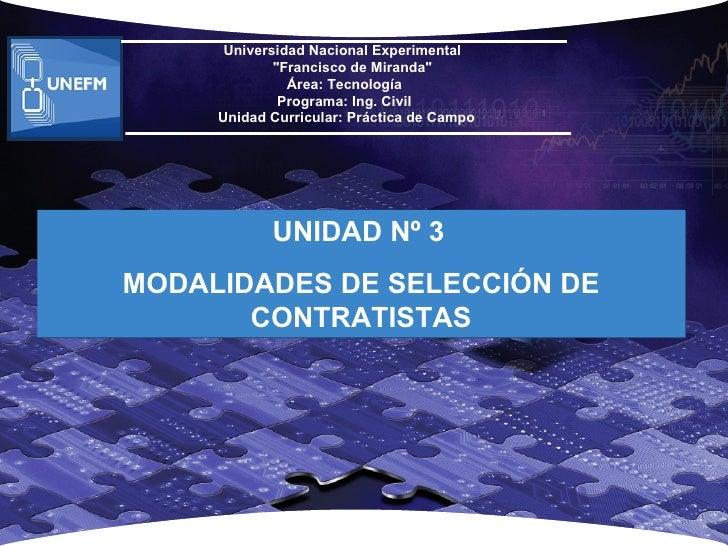 """Universidad Nacional Experimental             """"Francisco de Miranda""""               Área: Tecnología              Programa:..."""