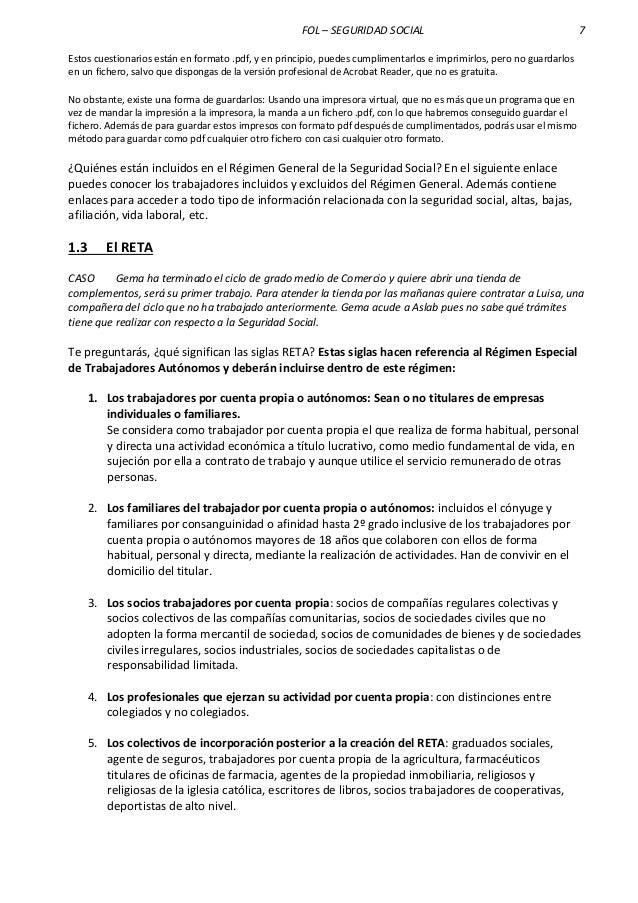 Formacion Y Orientacion Laboral Tema 3 La Seguridad