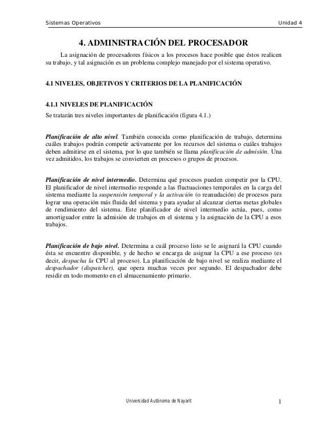 Sistemas Operativos                                                                       Unidad 4             4. ADMINIST...