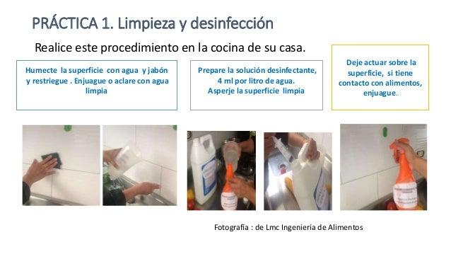 limpieza y desinfecci n sustancias permitidas t cnica On limpieza y desinfeccion de alimentos