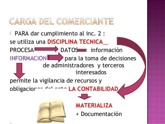  REGIMEN LEGAL: SISTEMAS DE CARGA DEDATOS:CODIGO DE COMERCIOARTS. 43,44,51,52,53,67LEY DE SOCIEDADESCOMERCIALESART. 61