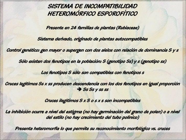 Unidad 4 mecanismos de incompatibilidad for Incompatibilidad en plantas