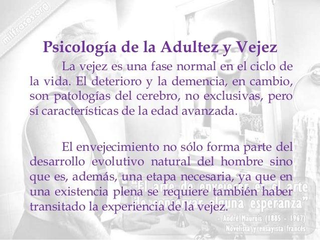 Unidad 4 psicologia de la adultez y vejez for Que es divan en psicologia