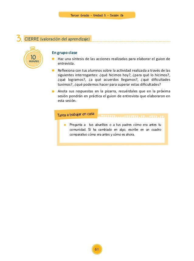 Anexo 2 Tercer Grado Guía de la entrevista GUÍA DE ENTREVISTA Saludo: …………………….................………………………………………………………………………...
