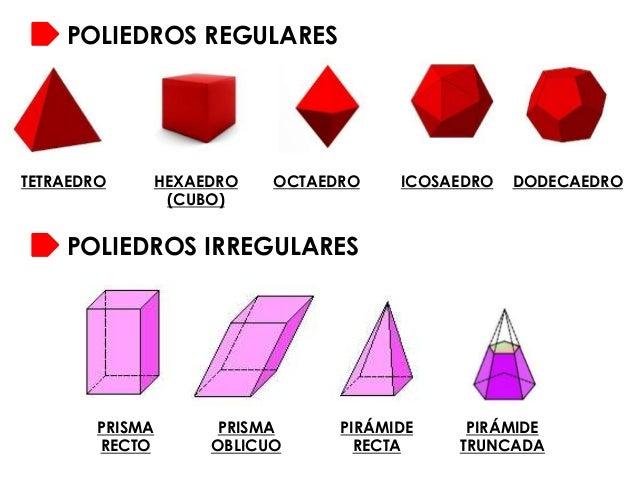 Resultado de imagem para poliedros não regulares