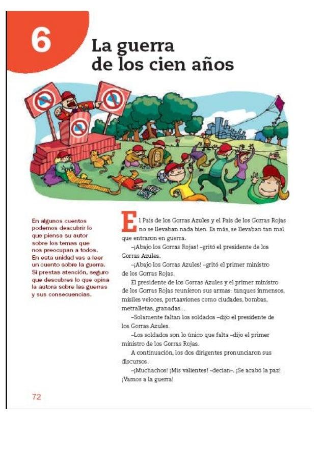 """Unidad 6 Lengua Castellana 4º - Santillana """"La Casa del Saber"""""""