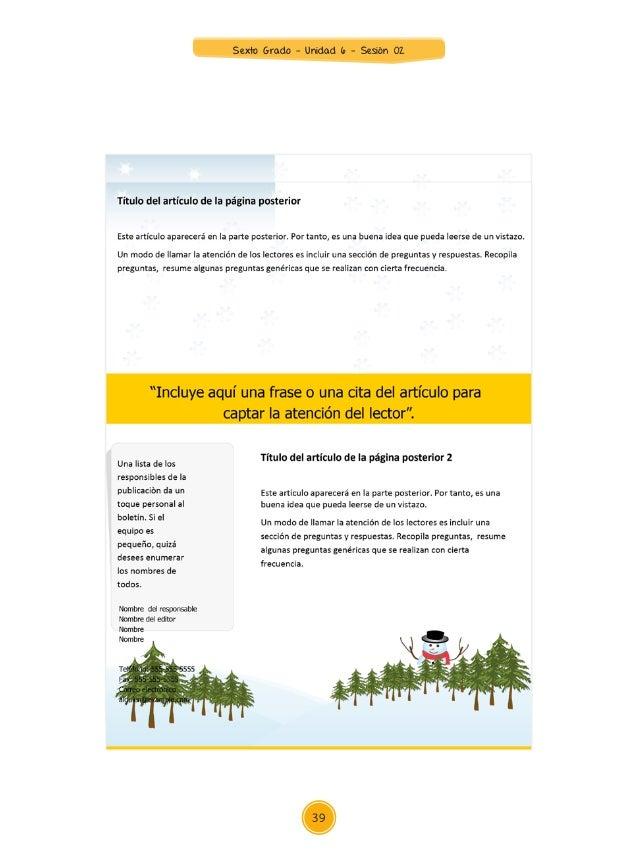 Anexo 1 Sexto Grado Lista de cotejo COMPETENCIA  Produce textos escritos. Logrado No logrado Nombres y apellidos Recupera...