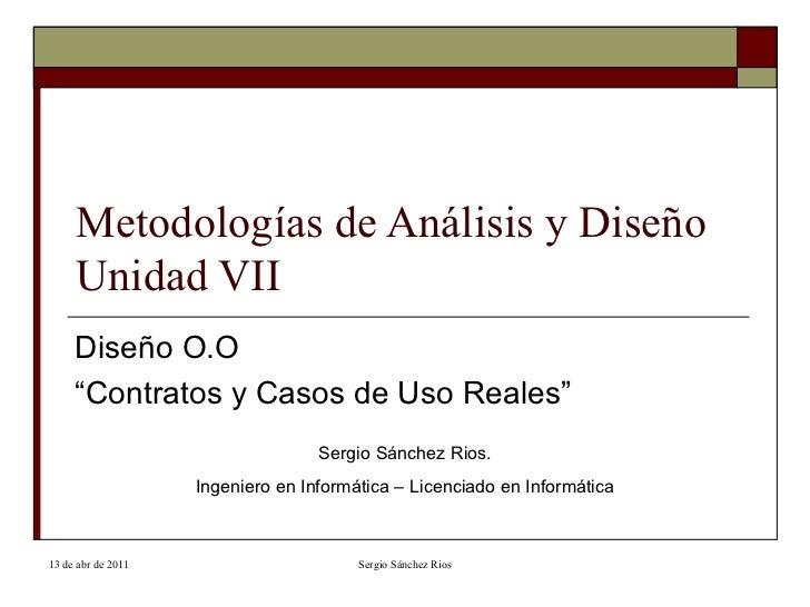 Unidad 7 mad modelado dise o contratos y casos de uso reales - Casos de alcoholismo reales ...