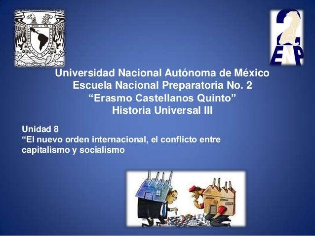 "Universidad Nacional Autónoma de México           Escuela Nacional Preparatoria No. 2              ""Erasmo Castellanos Qui..."