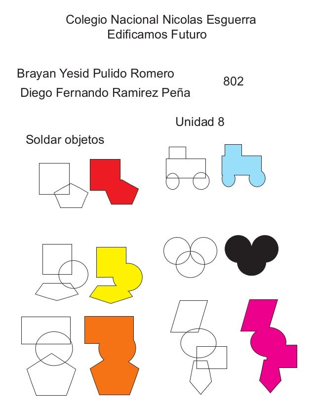 Colegio Nacional Nicolas Esguerra  Edificamos Futuro  Brayan Yesid Pulido Romero  Diego Fernando Ramirez Peña  802  Unidad...