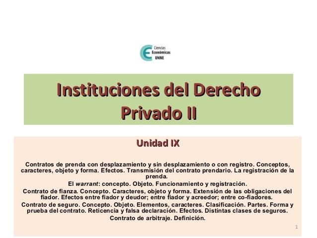 Unidad 9   privado ii Slide 1