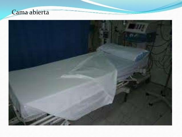 Unidad del paciente for Cama abierta