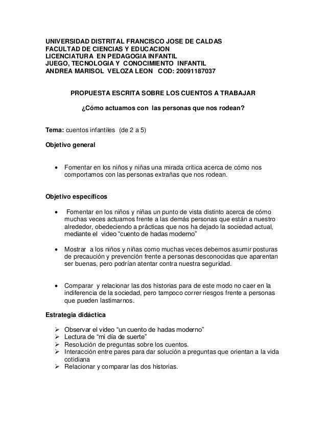 UNIVERSIDAD DISTRITAL FRANCISCO JOSE DE CALDAS FACULTAD DE CIENCIAS Y EDUCACION LICENCIATURA EN PEDAGOGIA INFANTIL JUEGO, ...
