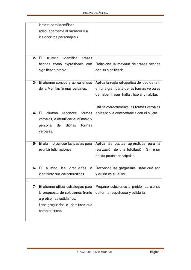 Unidad Didáctica álvaro Gallego Moreno
