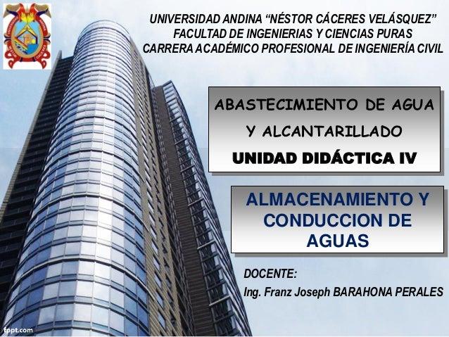 """UNIVERSIDAD ANDINA """"NÉSTOR CÁCERES VELÁSQUEZ"""" FACULTAD DE INGENIERIAS Y CIENCIAS PURAS CARRERA ACADÉMICO PROFESIONAL DE IN..."""
