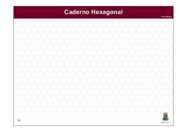 DQOI - UFC Prof. Nunes 56 Caderno Hexagonal