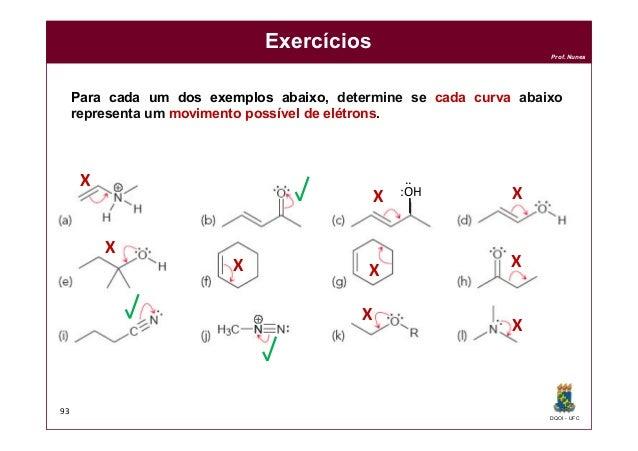 DQOI - UFC Prof. Nunes Exercícios 93 Para cada um dos exemplos abaixo, determine se cada curva abaixo representa um movime...