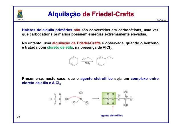 DQOI - UFC Prof. Nunes Haletos de alquila primários não são convertidos em carbocátions, uma vez que carbocátions primário...