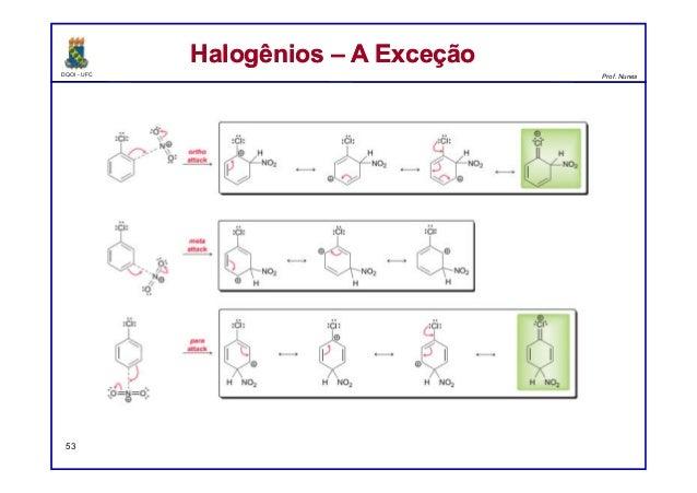 DQOI - UFC Prof. Nunes 53 Halogênios – A ExceçãoHalogênios – A Exceção