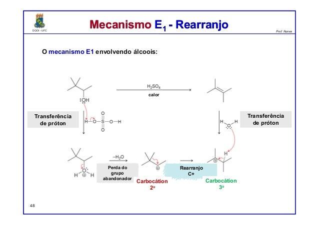 DQOI - UFC Prof. Nunes DQOI - UFC Prof. Nunes Mecanismo E1 - RearranjoMecanismo E1 - Rearranjo O mecanismo E1 envolvendo á...