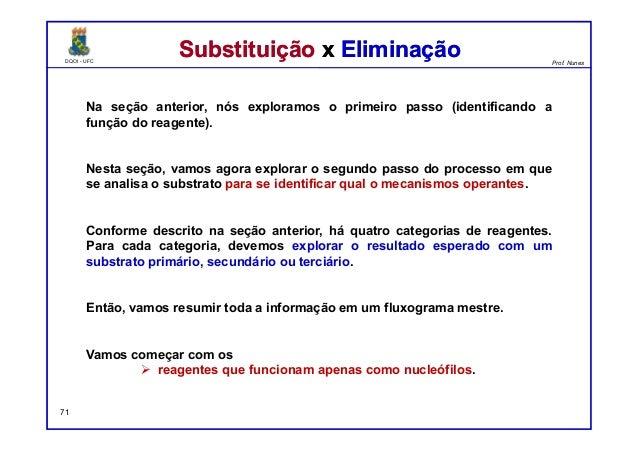 DQOI - UFC Prof. Nunes DQOI - UFC Prof. Nunes Na seção anterior, nós exploramos o primeiro passo (identificando a função d...