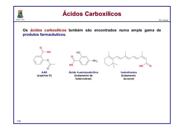 Reações de Ácidos Carboxílicos e Derivados Slide 3