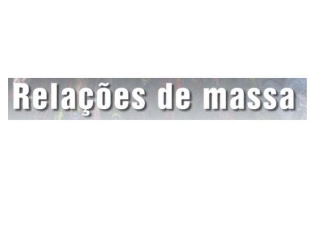 Unidade07   relação de massa