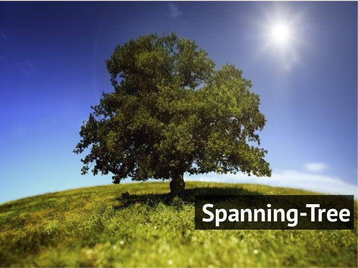 O que o Spanning Tree faz?- Bloqueia algumas portas para que haja apenas um caminhoentre qualquer par de segmentos LAN- O ...