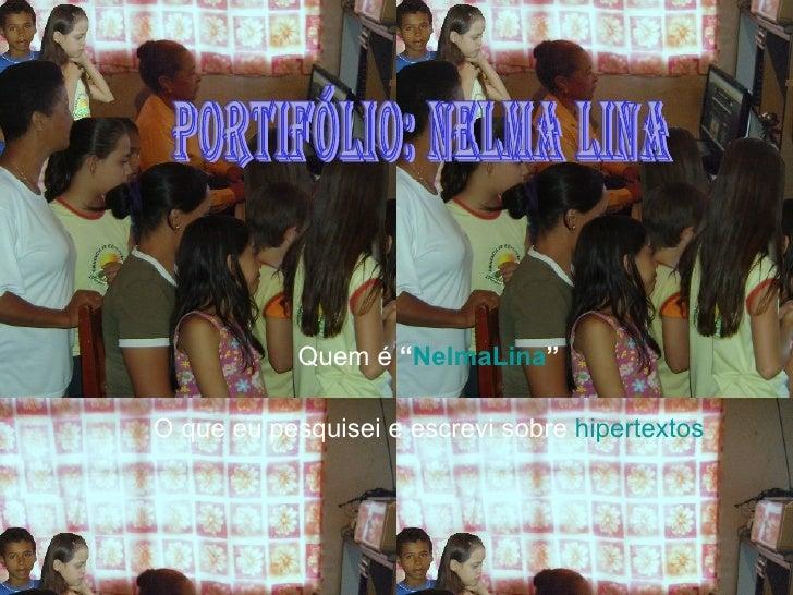 Unidade 2 portfólio_nelma_lina