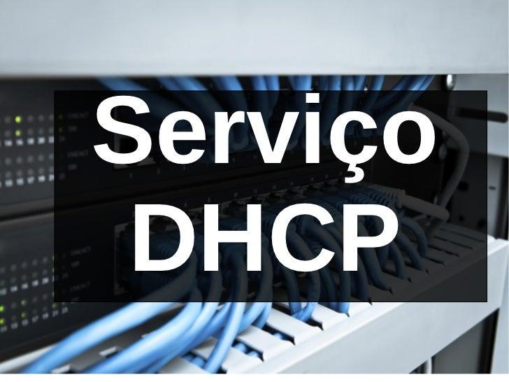 Serviço DHCP