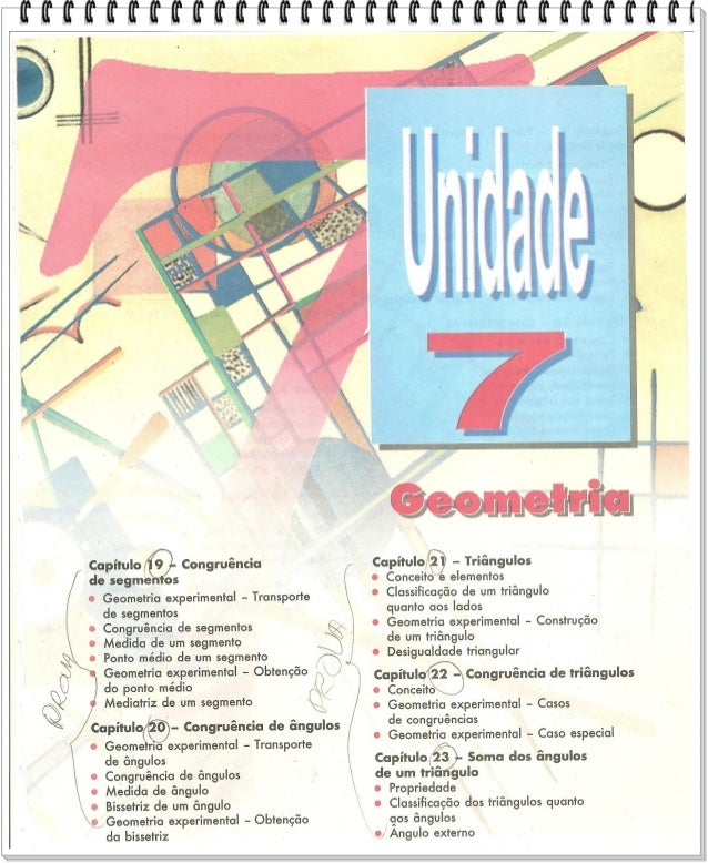 Unidade 7 GEOMETRIA