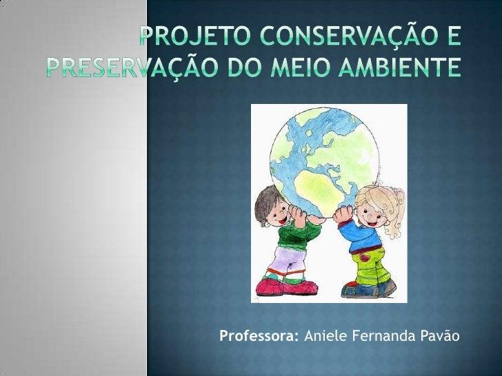 Professora: Aniele Fernanda Pavão