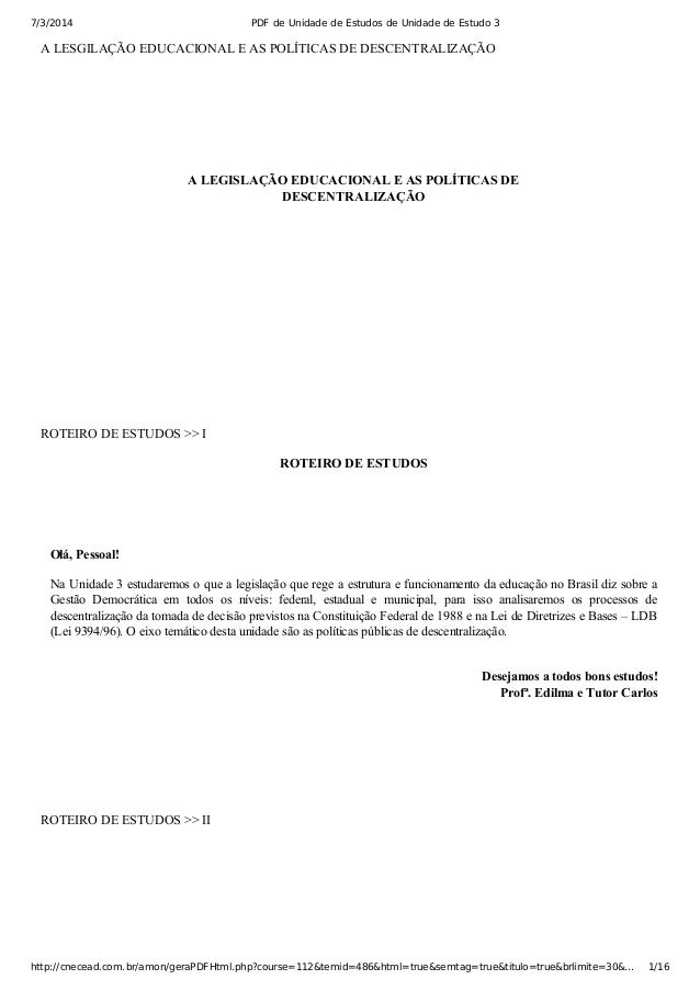 7/3/2014 PDF de Unidade de Estudos de Unidade de Estudo 3 http://cnecead.com.br/amon/geraPDFHtml.php?course=112&temid=486&...