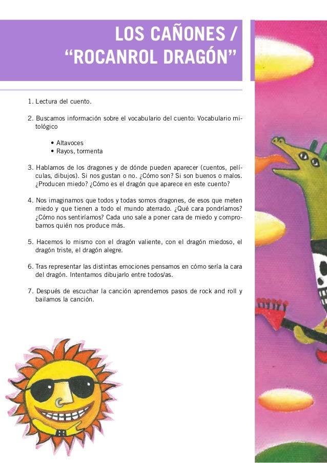 Unidad didactica para el LibroDisco de Magn Blanco  La nia y el g