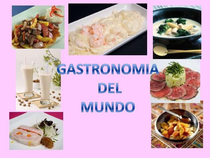 GASTRONOMIA DEL MUNDO DOWNLOAD