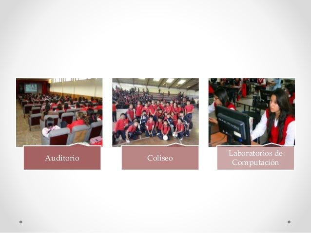 Auditorio Coliseo Laboratorios de Computación