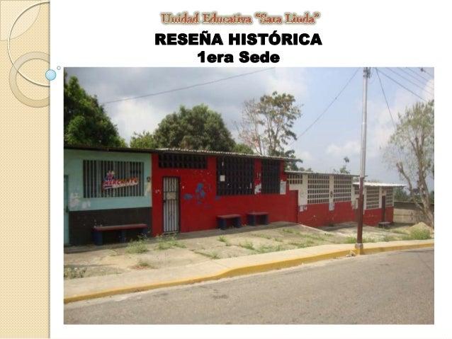 RESEÑA HISTÓRICA 1era Sede