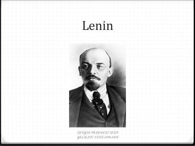 Lenin SERGIO PAREDES/ IESO GALILEO/ CCSS 2014-2105