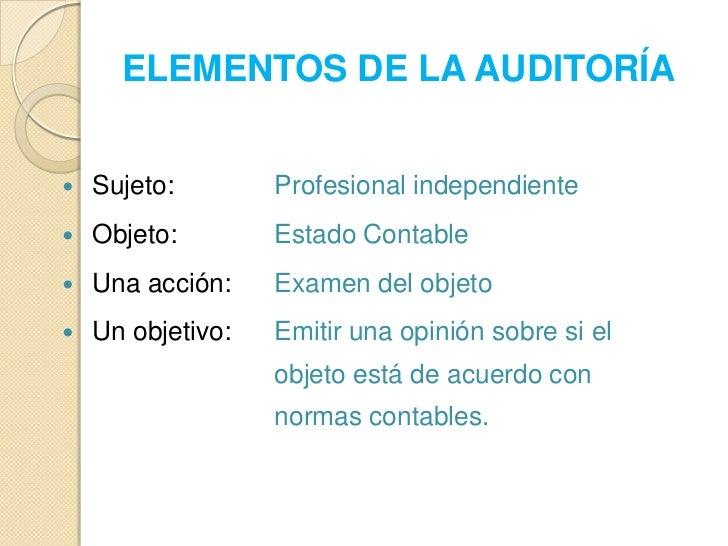 AUDITORIA  Slide 3
