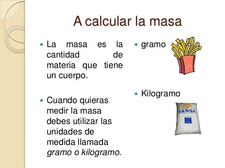Unidades de medida for Cuales son medidas antropometricas