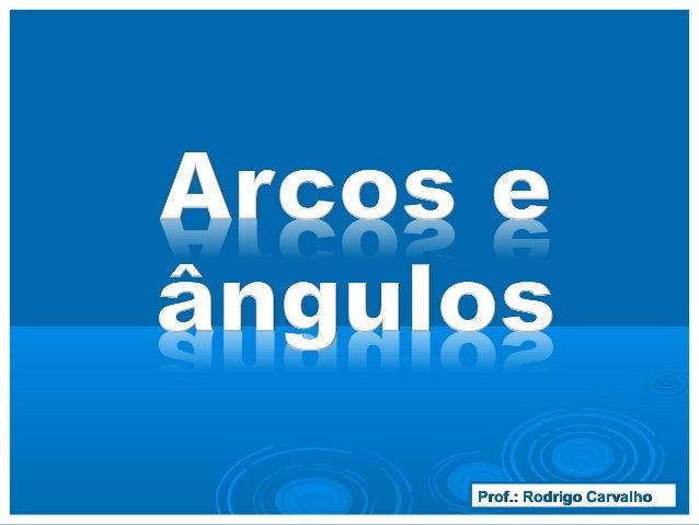 Prof.: Rodrigo CarvalhoProf.: Rodrigo Carvalho