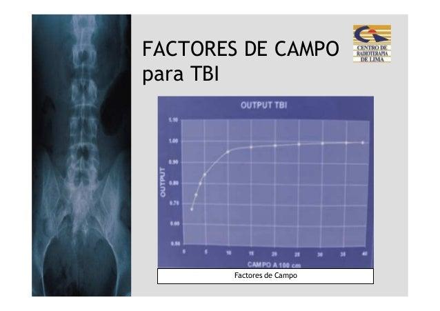 FACTORES DE CAMPOpara TBI       Factores de Campo