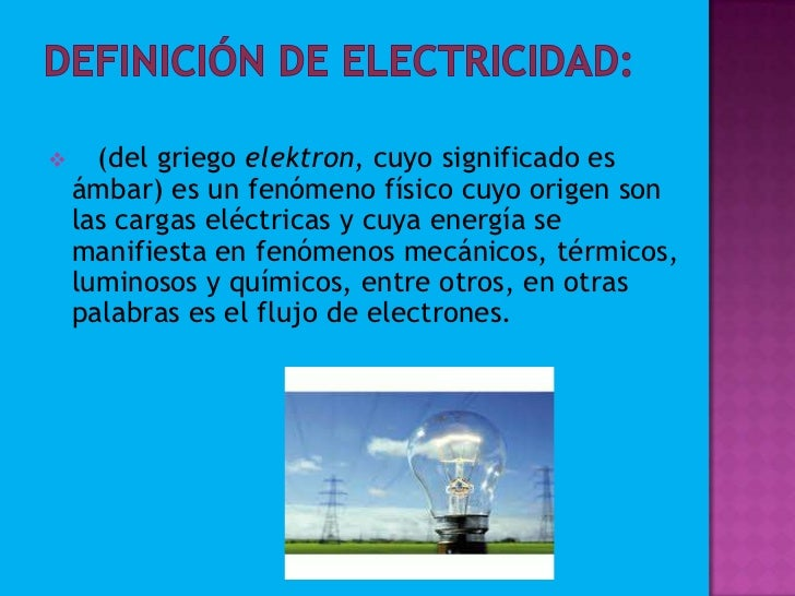 Fisica unidad 1 electricidad for Electricidad