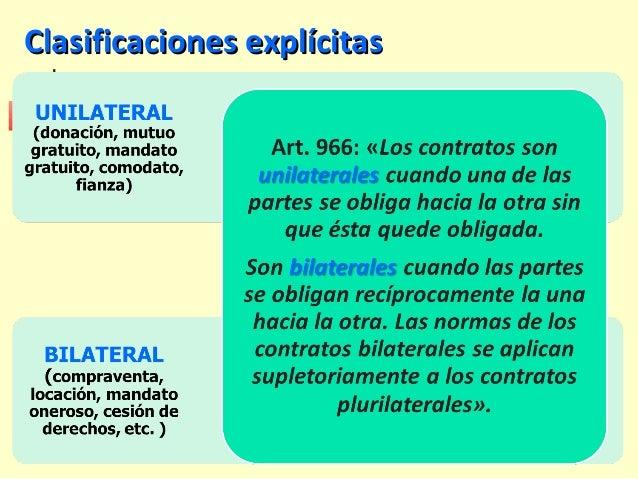 Clasificaciones explícitasClasificaciones explícitas