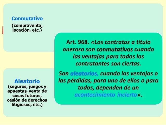 Clasificaciones implícitasClasificaciones implícitas Principales Accesorios Cuando depende de otro contrato. Una vez extin...
