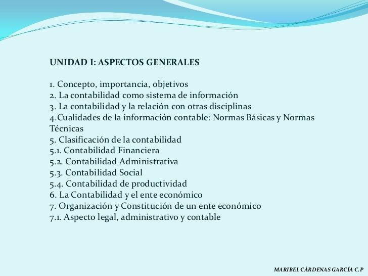 Aspectos generales de la contabilidad for Importancia de oficina wikipedia
