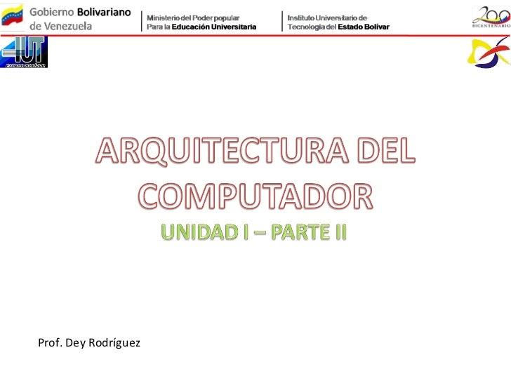 Prof. Dey Rodríguez